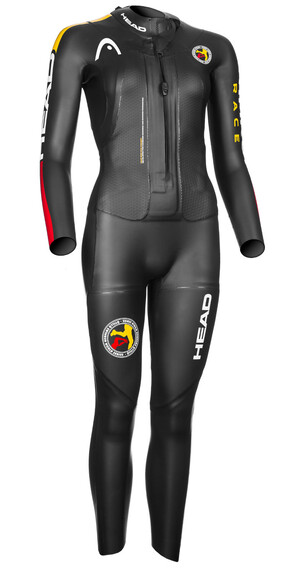 Head ÖTILLÖ Swimrun Race triathlon kleding zwart